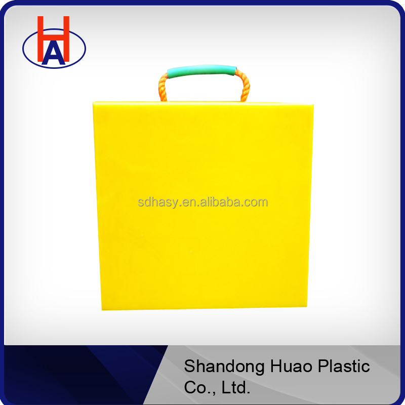 Huao HDPE crane mats outrigger pads cutting board china supplier