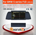 HIFIMAX WIN CE 6.0 Car DVD GPS For BMW 5 series F10 2013 Car DVD Player GPS Navigation System