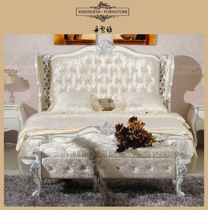 danxueya classic design wooden bed/usa bed furniture/queen throne bed