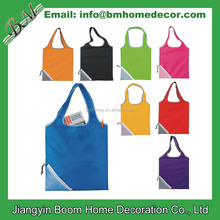 Polyester Reusable Custom Foldable Shopping Tote Bag / Heart Shape Folding Bag / Heart Foldable Shopping Bag