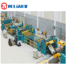 Hydraulic used steel coil film slitting machine