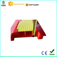 Factory hot sale 1000*250*50mm PVC car cable protector ramp