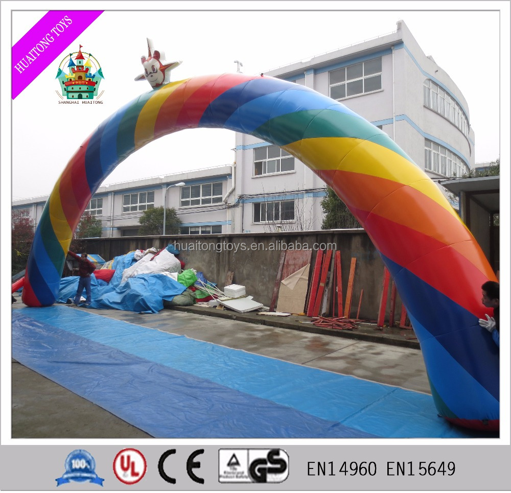 advertising inflatable arch customized inflatable rainbow archway