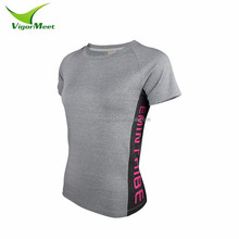 2016 wholesale newest sublimation printing women compression T shirt
