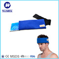 Head therapy gel hot cold pack with Nylon tape Strap for Hot Cold pack