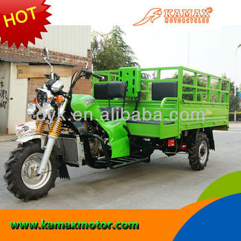 2013 New Cargo Green Water Cooled Cargo Three Wheel Motorcycle KA300RT