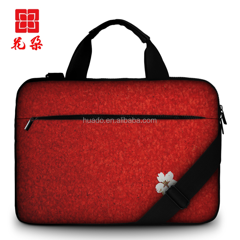 Custom Laptop Shoulder Bag 11.6 13.3 15.6 inch canvas Sleeve Carry Case for MacBook Pro Air 11 12 13 14 15 ASUS Acer Lenovo