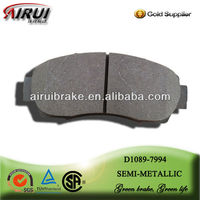 D1089 pedal pad for car ceramic brake pad for Great Wall Hover H6 2011--