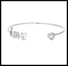 Significant Gift For Lover Silver Color Love Bracelet