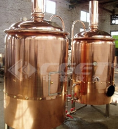 red copper brewhouse