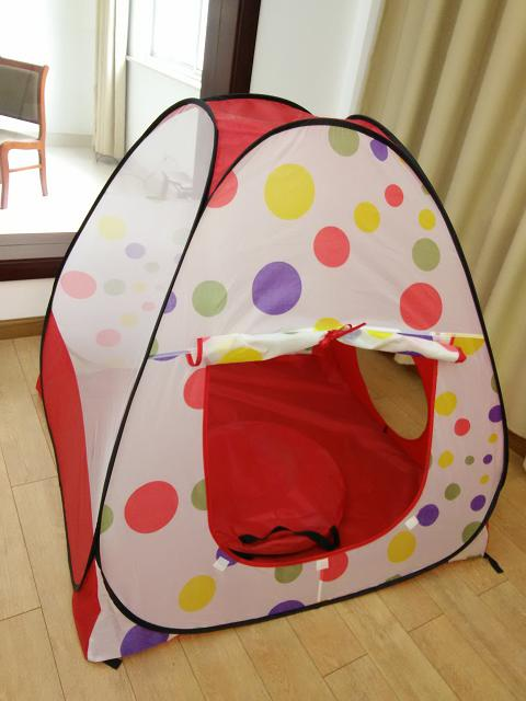 foldable baby play tent Indoor and Outdoor Kids Play Tent with tunnel