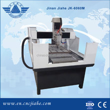 Cost saved JK-6060M metal cnc routing machine for model