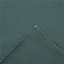 21x20+70D/137x62 241gsm 157cm green black cotton stretch twill 3/1S garment buyer in usa silver metallic fabric