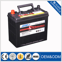 hot selling product 2016!lead acid 12v 45ah automobile car battery for starting