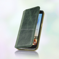 Book pu leather case cover pc back for samsung galaxy S6