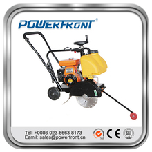 gasoline engine or diesel engine walk behind concrete cutter