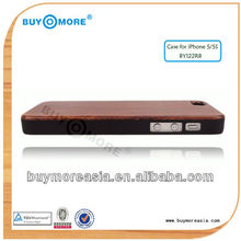 Best price for wood case iphone 6 5s/high end wood case for iphone 5 China Supplier OEM Factory
