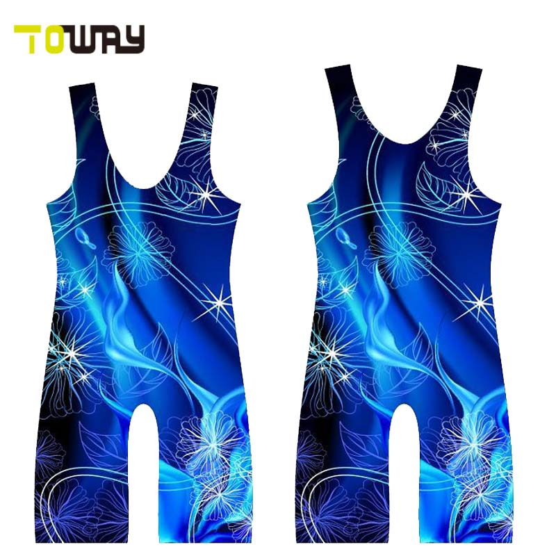custom wholesale wrestling singlets
