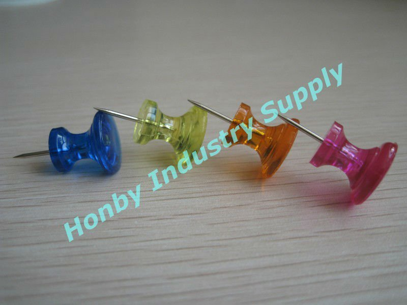 26mm cup shaped jumbo plastic handle office pin