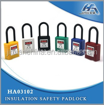 Safety Padlock with Master Key, Safety Lockout/Tagouts, All Insulated Padlock
