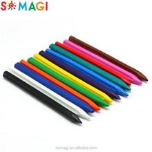 New product bright color wax crayon for Children Kindergarten Drawing Tools
