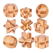 Traditional Educational Toys Brain Game Wooden Blocks Toy For Adults Reduce Pressure