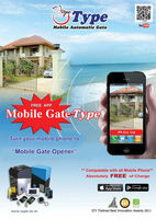 MOBILE PHONE Automatic Gate for Sliding Motor