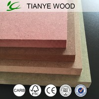 Cheap plain mdf board for household furniture and cabinets