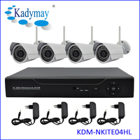 Top Selling 4chs HD Waterproof Security Wireless Camera System