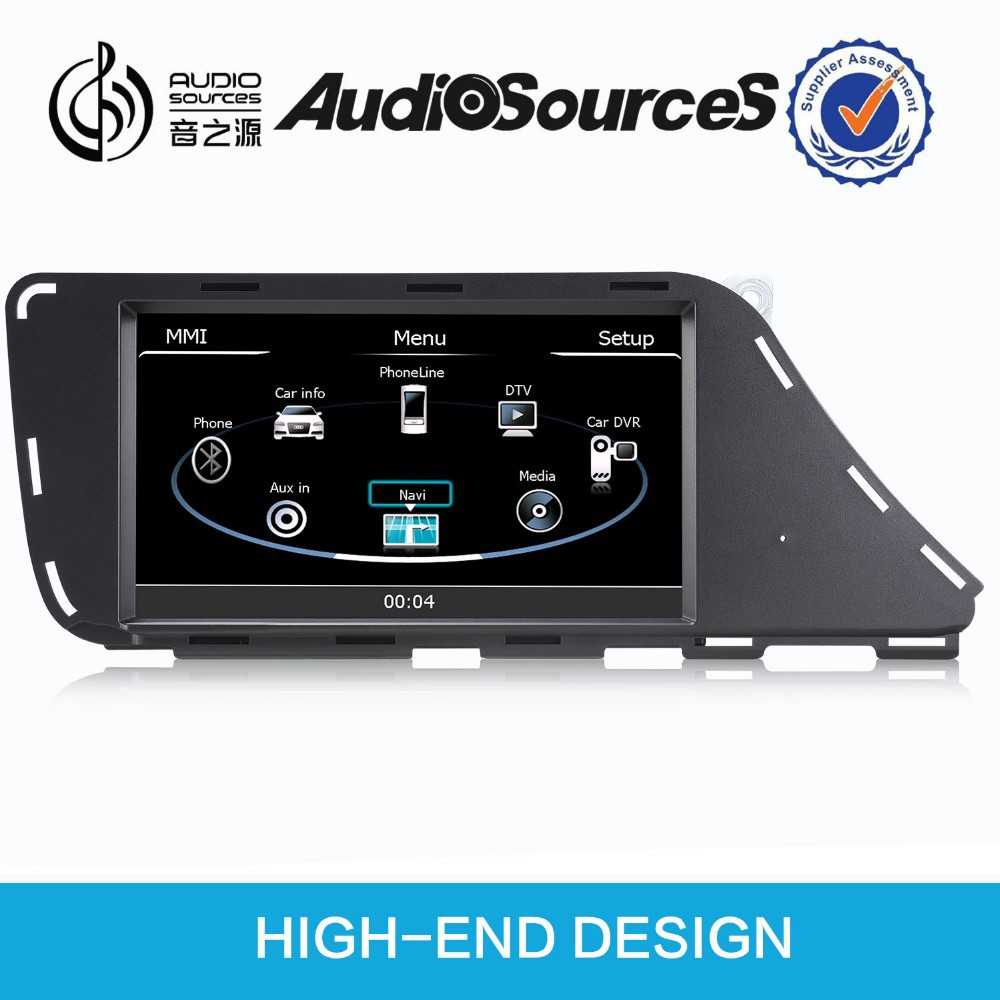 7'' hd car stereo for audi a4 for audi q5 for audi a5 with dvd gps navigation radio tv bluetooth ipod