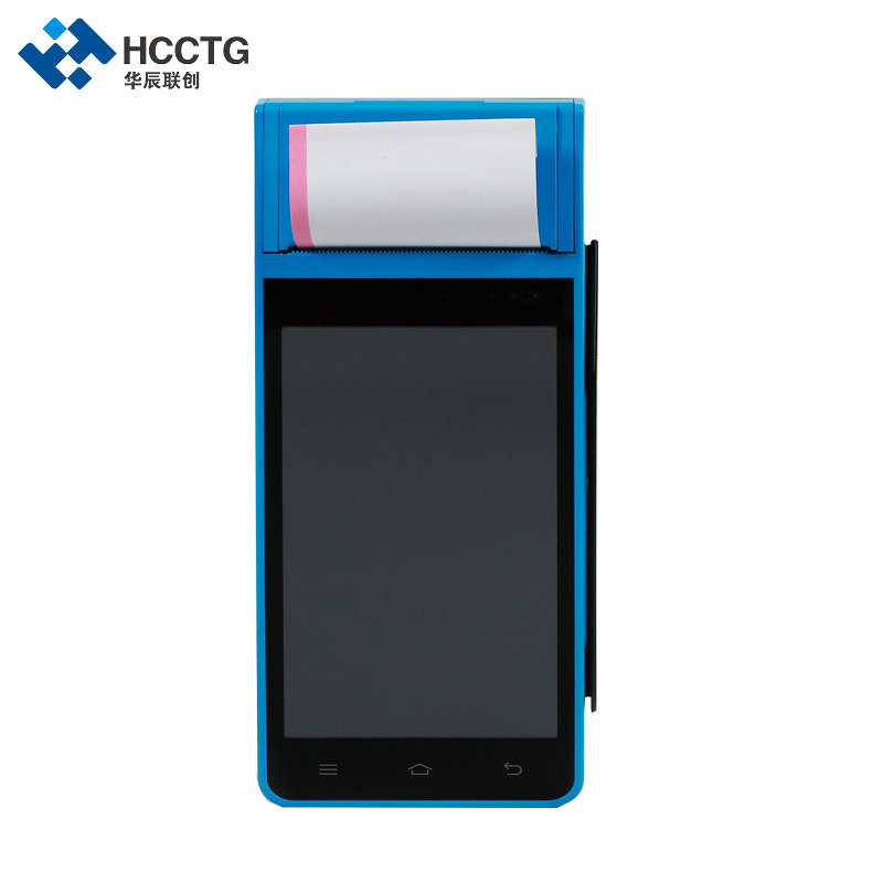 QR Barcode Scaning All In One 3G Android POS Terminal With Thermal Printer Z100