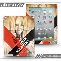 Hot sale skin sticker for new ipad with new design
