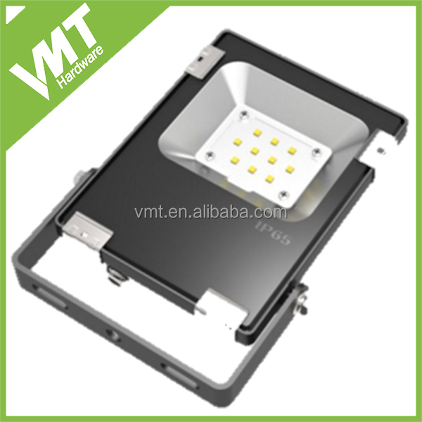 New design led flood light shell 10w to 200w die cast light housing without driver and led chips
