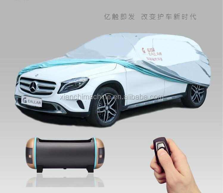 second generation automatic car cover with LED battery indicator