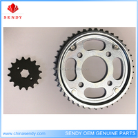 HIGH QUALITY MANUFACTORY Chain and Sprocket Kit TITAN150 428-46T/16T 428H motocycle spare parts
