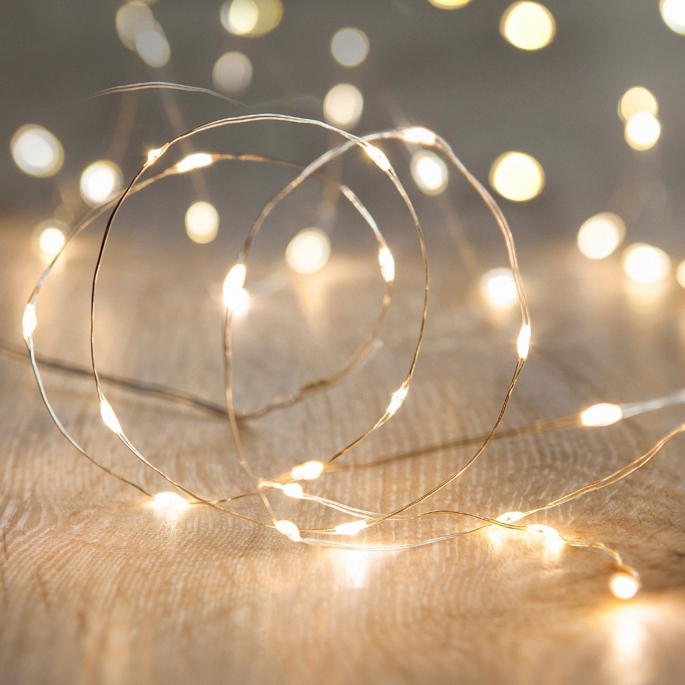 2017 christmas Hot selling Battery operated 40 Multi color LED Fairy lights