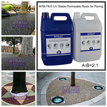 Permeable Resin Bound Tree Surround