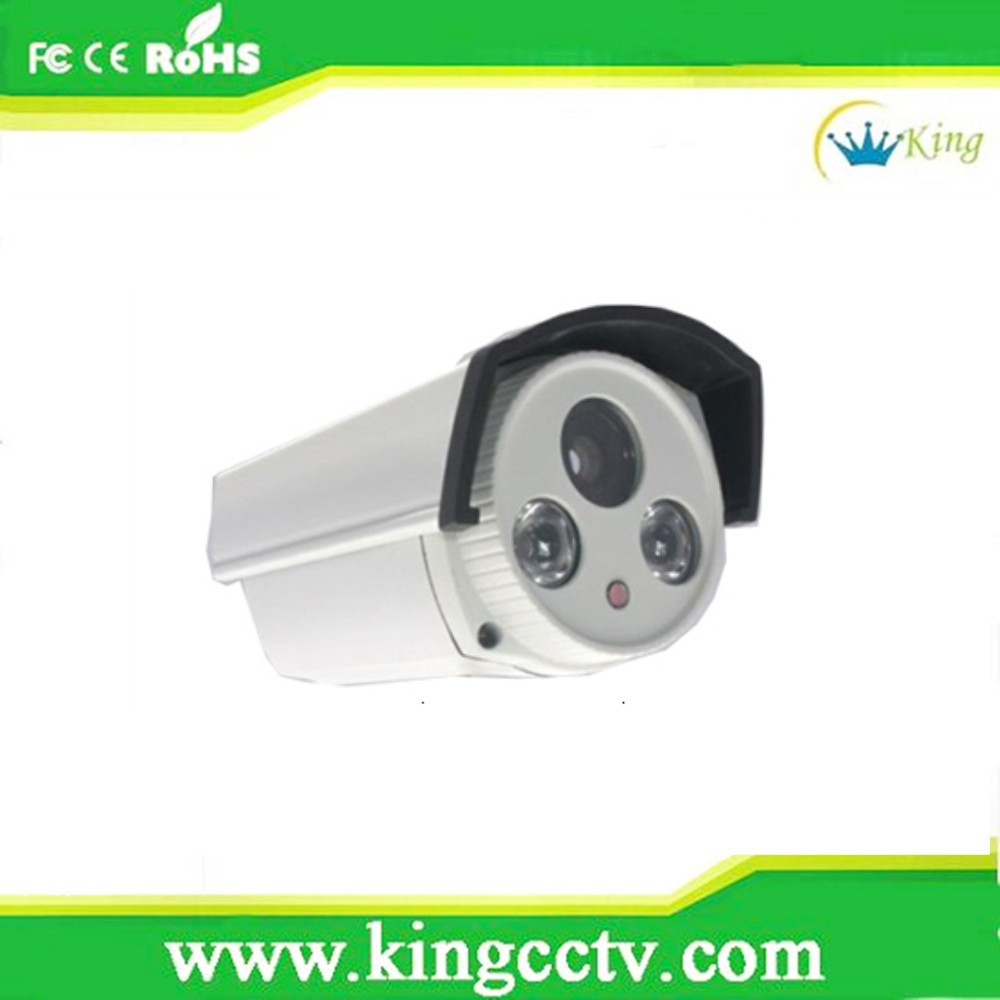 New Product Led Array IR Waterproof CCTV Camera white Bullet