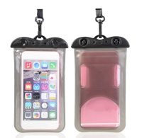 100% Real Waterproof 5.5inch Mobile Phone Plastic PVC Bag Case for iPhone 6 Plus