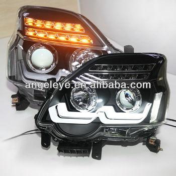 Nissan X Trail Led Strip Headlight With Bi Xenon Projector