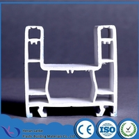 High quality and heat insulation 60mm sliding upvc profile manufactures windows