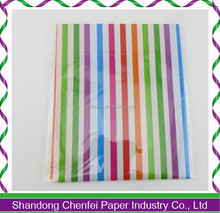 1 color printed tissue paper packing shoes tissue paper with company brand