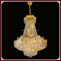 LED Wireless Remote Control Crystal Chandelier LT6126