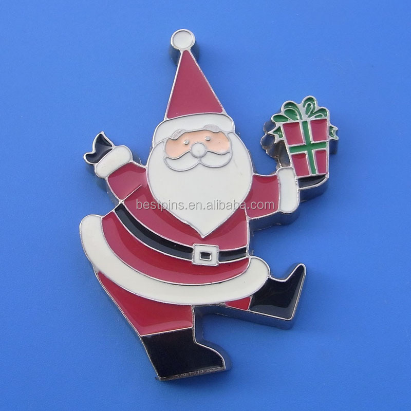 wholesale santa christmas lapel pins