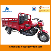 2015 Newest 200cc Zonlon 3 Wheel Food Tricycle Cart For Sale