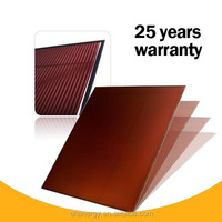 Hanergy Oerlikon 120w amorphous silicon thin film solar panel with attractive price