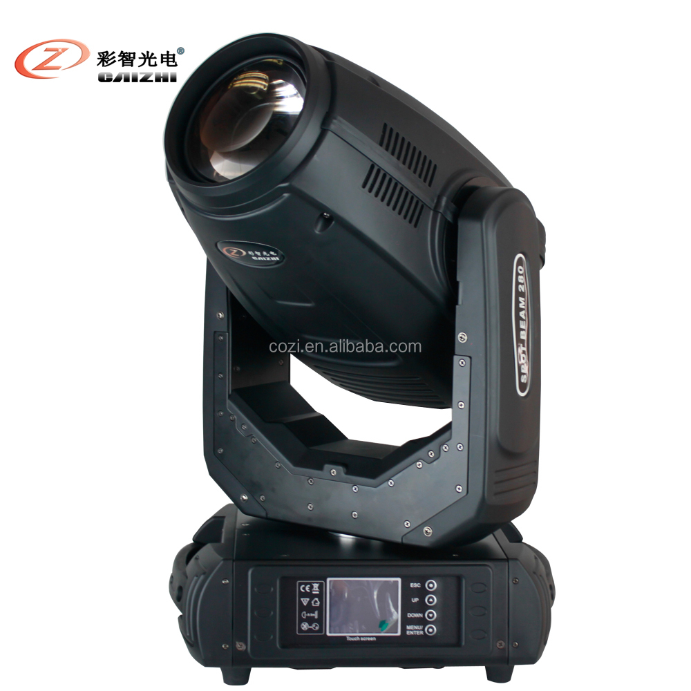 CAIZHI Robe <strong>pointe</strong> 280 10R 280w beam spot wash 3 in 1 moving head light professional manufacture from china canton fair products