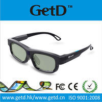 Permeability Rate 3d brillen glasses Universal Infrared Active Shutter 3D Glasses for 3D TVs compatible with Toshiba