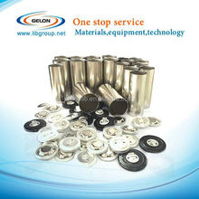 cylinder cell battery raw materials for 18650 ,26650,32650 cell cases
