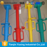 scaffolding screw shoring prop sleeve for shoring prop jack